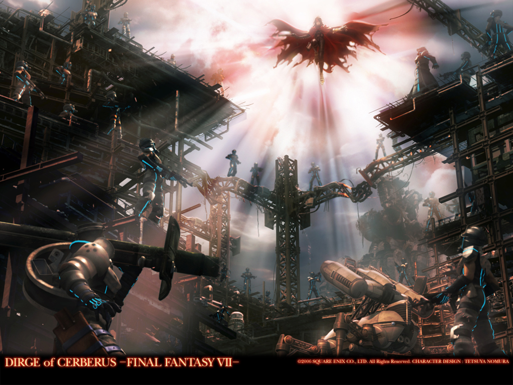 Dirge of Cerberus – Final Fantasy VII Artwork Collection
