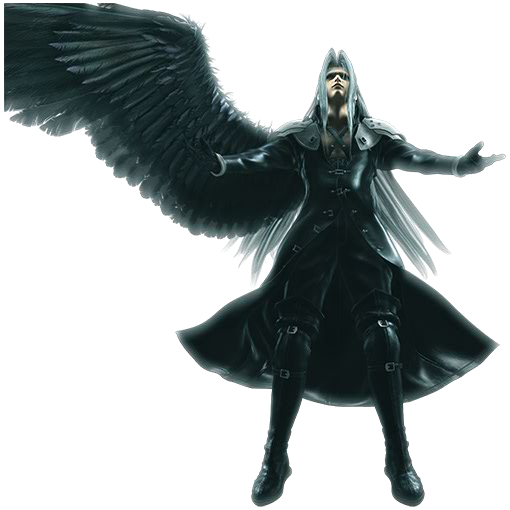Sephiroth VS Capitaine Muki Sephiroth-advent-children-complete