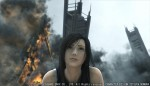 Advent Children Complete screening - Tifa, fire