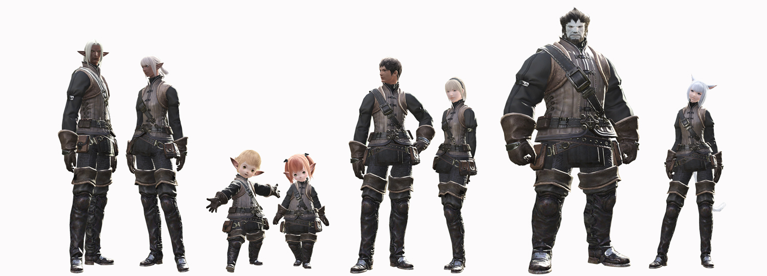 New Final Fantasy XIV info feature races, world and systems!  The