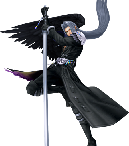 Sephiroth Wing Final Fantasy's Defini...