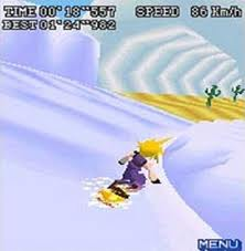 Too cool to worry about canon. Lego Cloud on his snowboard is still Teh Sex 13 years later