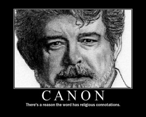 Meet George Lucas, or Your Lord And Savior as he likes to be called