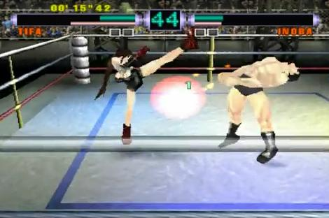 Ehrgeiz allowed fans the opportunity to finally satisfy their desires to get their asses kicked by Tifa