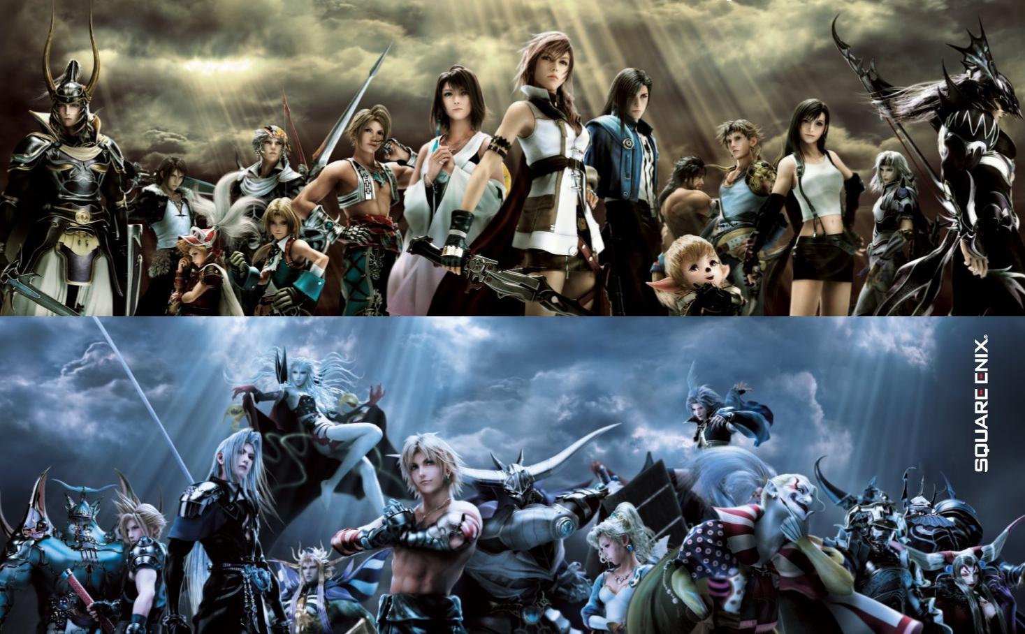All final fantasy main characters - photo#5