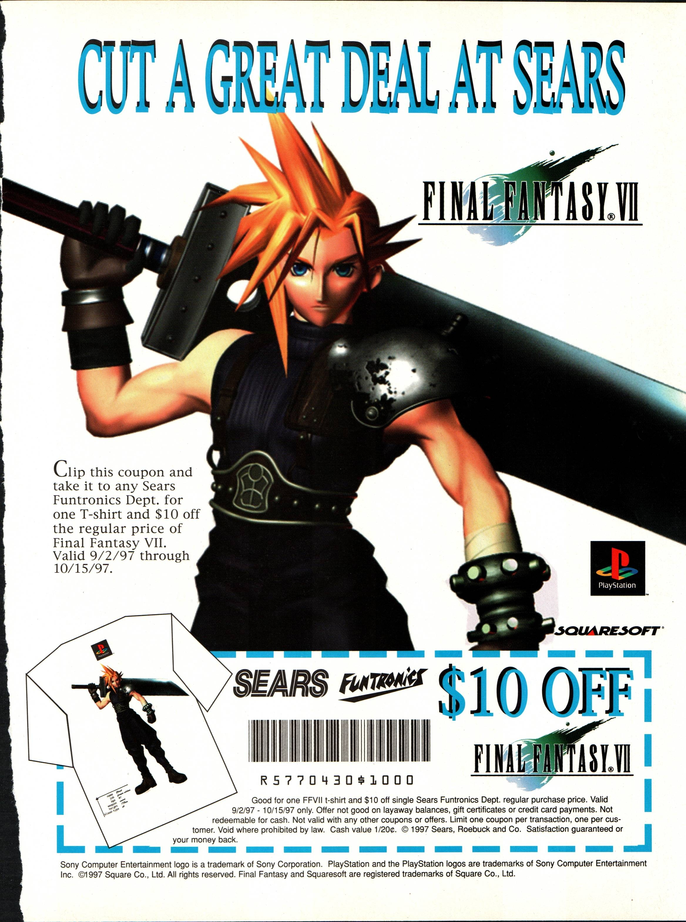 Coupons ff7