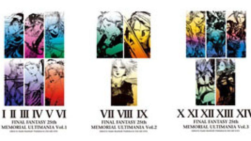 """Square Enix to Release """"Memorial"""" Ultimania Books"""