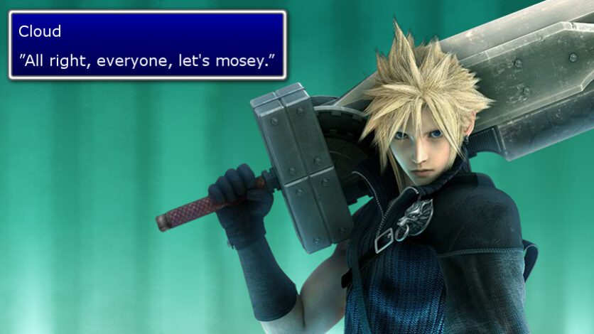 The Seven: best lines of dialogue in Final Fantasy VII