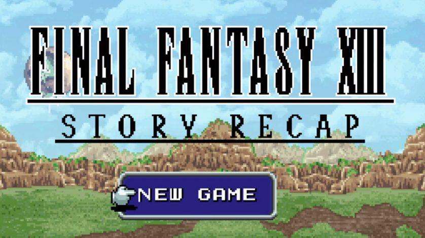 Final Fantasy XIII gets 16-bit retrospective