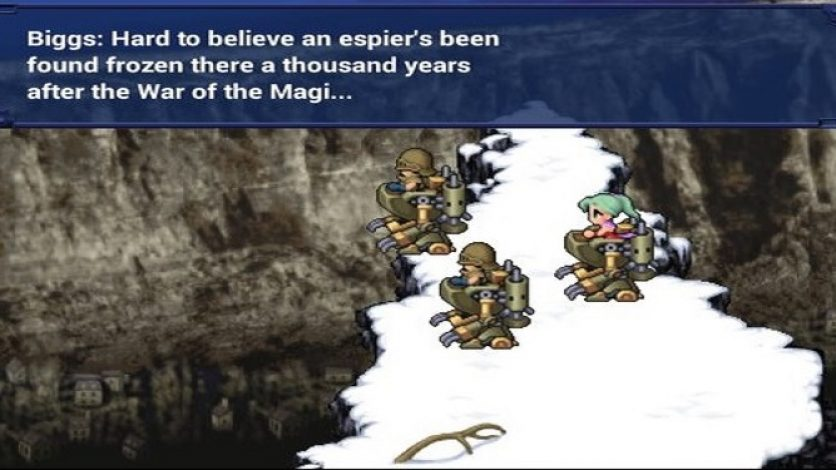 Final Fantasy VI for Android Unbeatable Due to Glitch