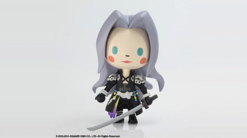 New Static Arts figures for Final Fantasy VII birthday