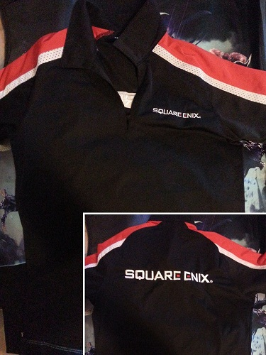 Square Enix staff polo