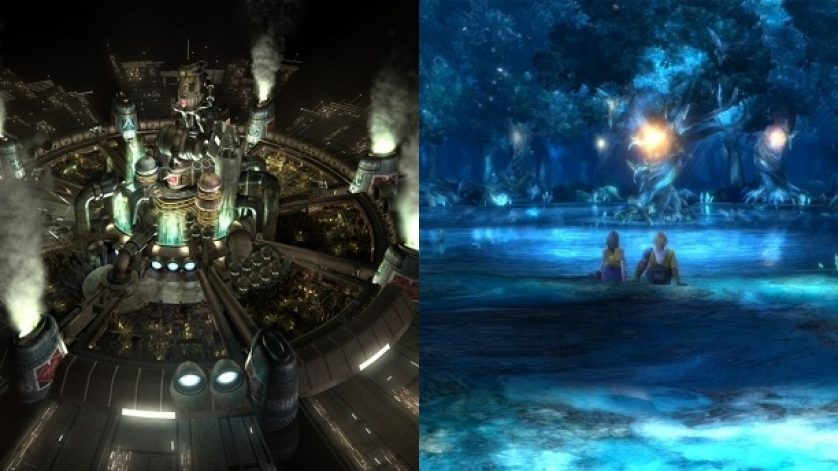 The Canon that Links FFVII & FFX