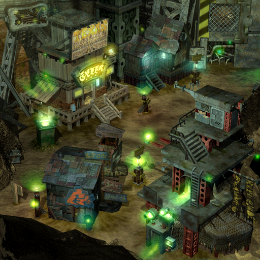 Sector 7 slums. Everyone who lives here will be just fine.