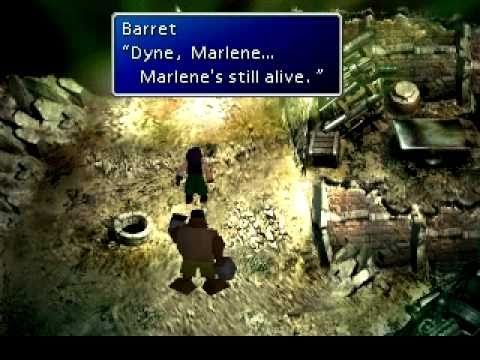 Barret tries to bring Dyne back from the brink of despair.