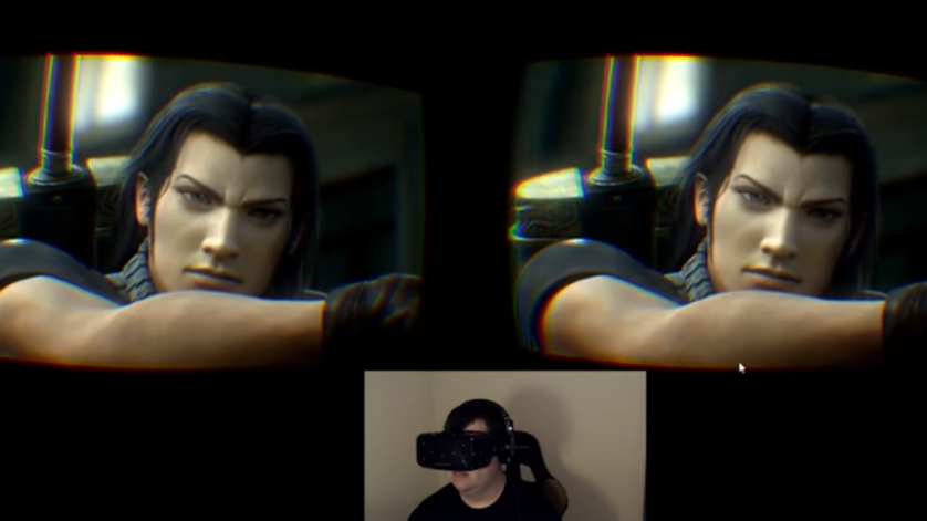 Crisis Core: Final Fantasy VII in Virtual Reality