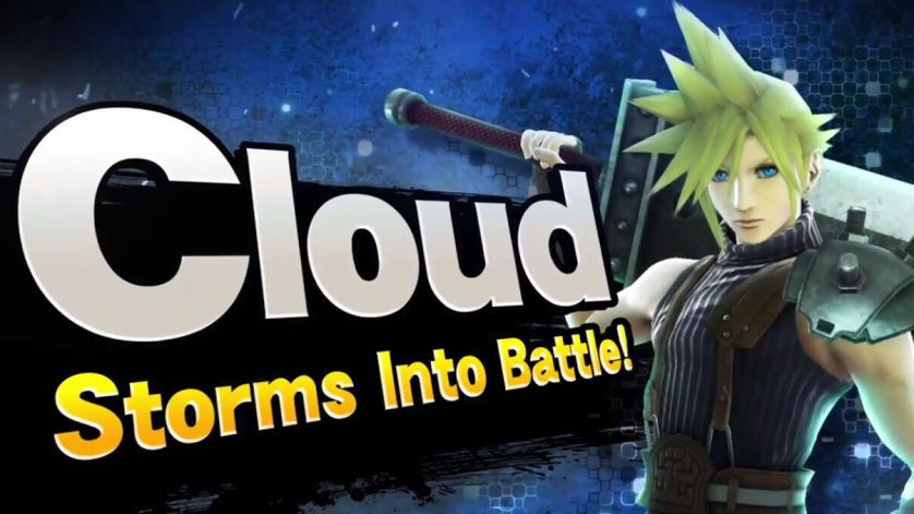 Cloud Strife headed for Super Smash Bros.