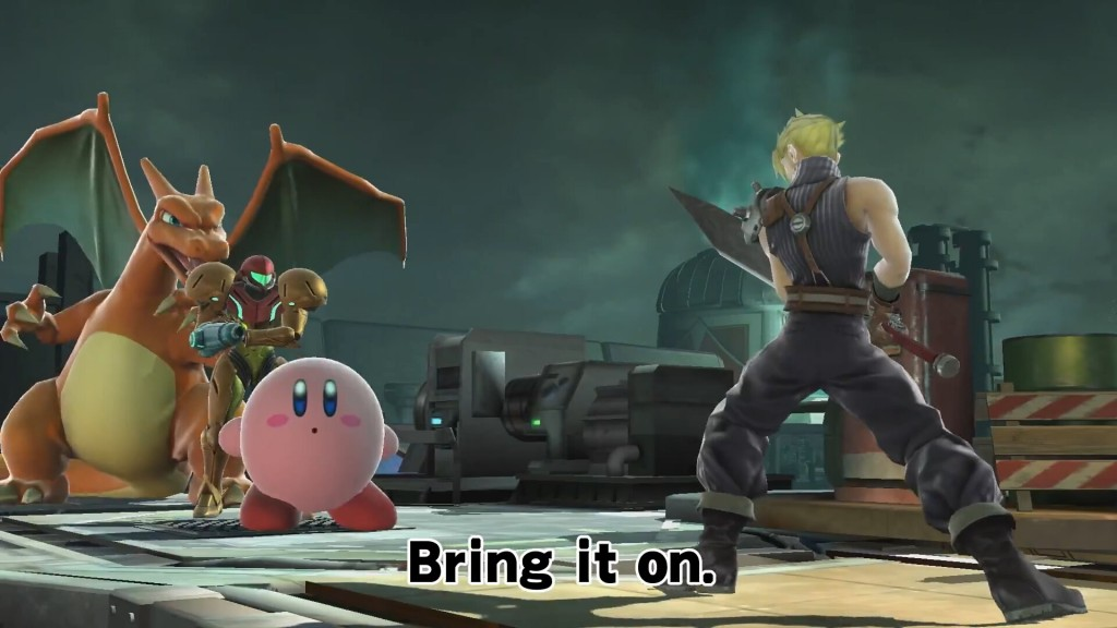 SmashBros5_FirstBattle