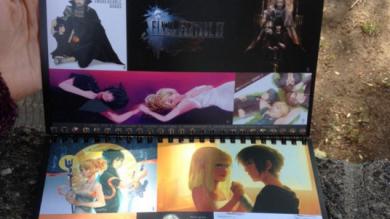 TLS Member's Art Featured in FFXV Fan Art Calendar
