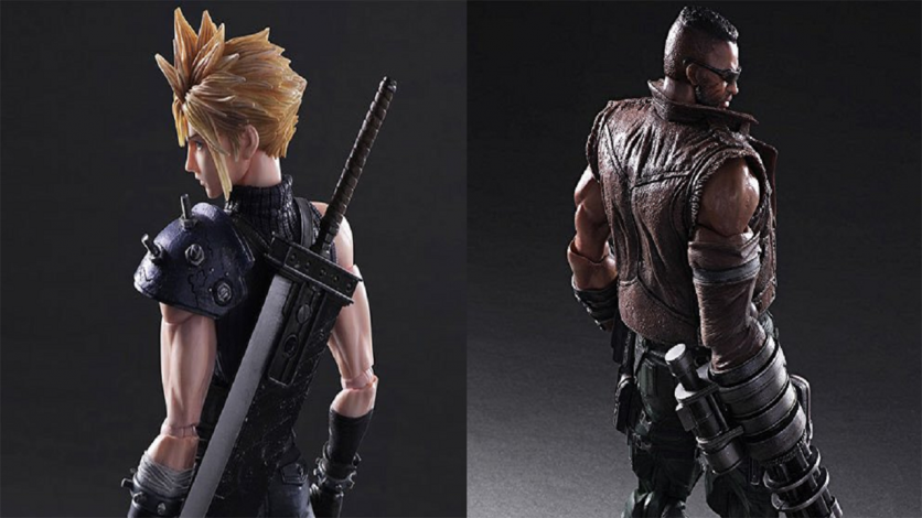 Final Fantasy VII Remake Play Arts Kai