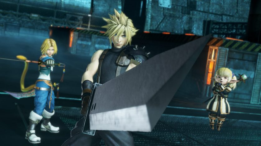 See Cloud in action in Dissidia NT