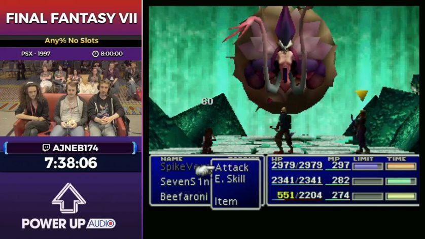 Final Fantasy VII at Summer Games Done Quick 2017