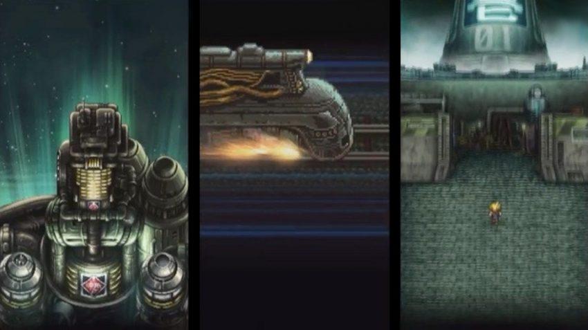 Record Keeper recreates Final Fantasy VII opening