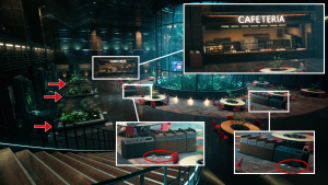 Cafeteria - new elements