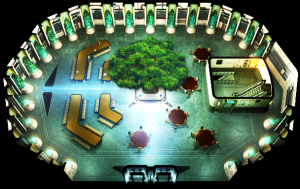Floor 61 cafeteria original render