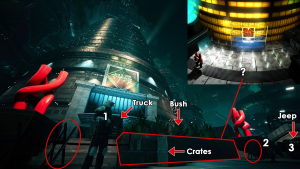 Shinra HQ Original Comparison 2
