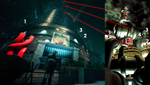 Shinra HQ Original Comparison 4