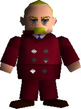President Shinra 3D Model