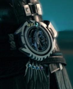 Sephiroth's Belt Buckle Materia