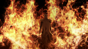Sephiroth in Flames AC