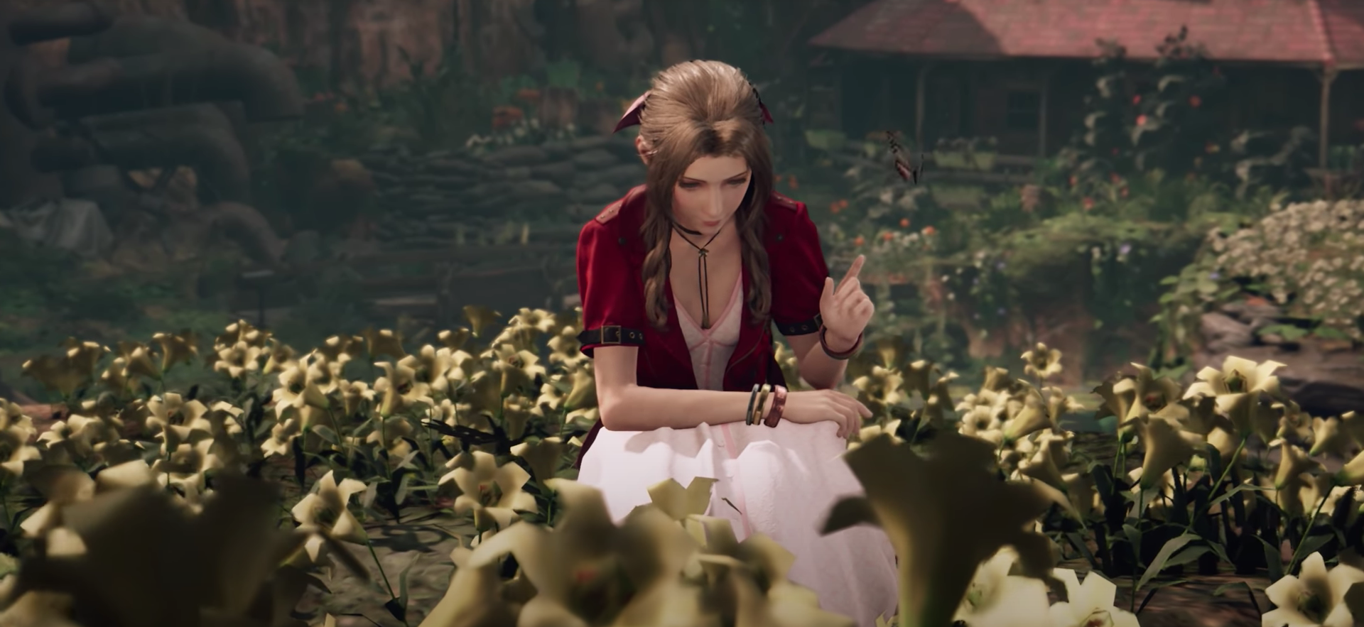 Aerith's Flower Texture Issues