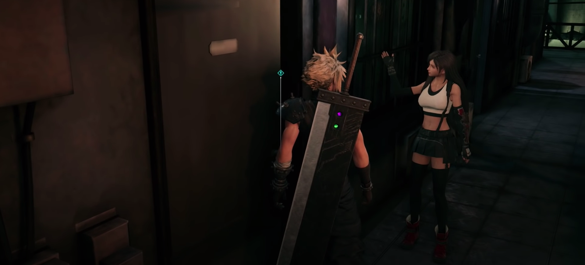 Tifa's Door Texture Issues