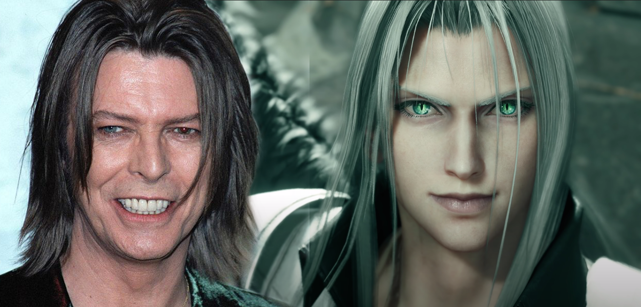 David Bowie & Unknown Sephiroth