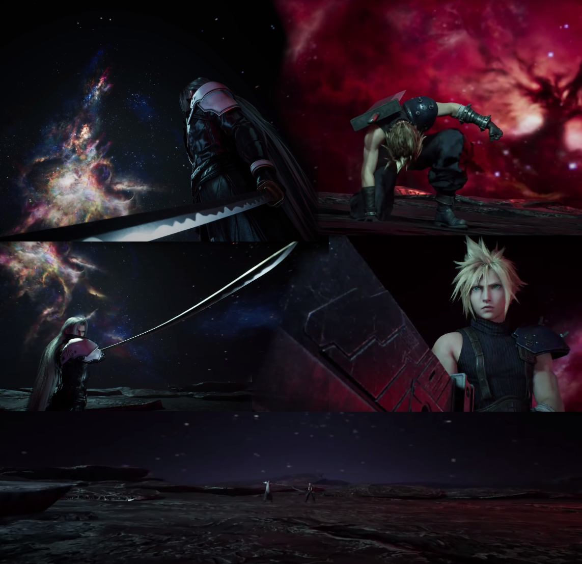 Sephiroth Vs. Cloud Edge of Creation