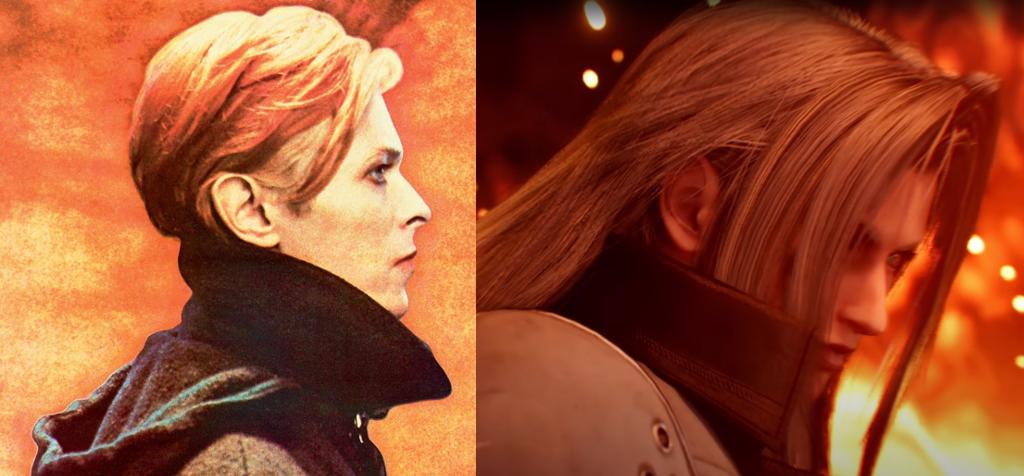 Low Bowie & Nibelheim Sephiroth