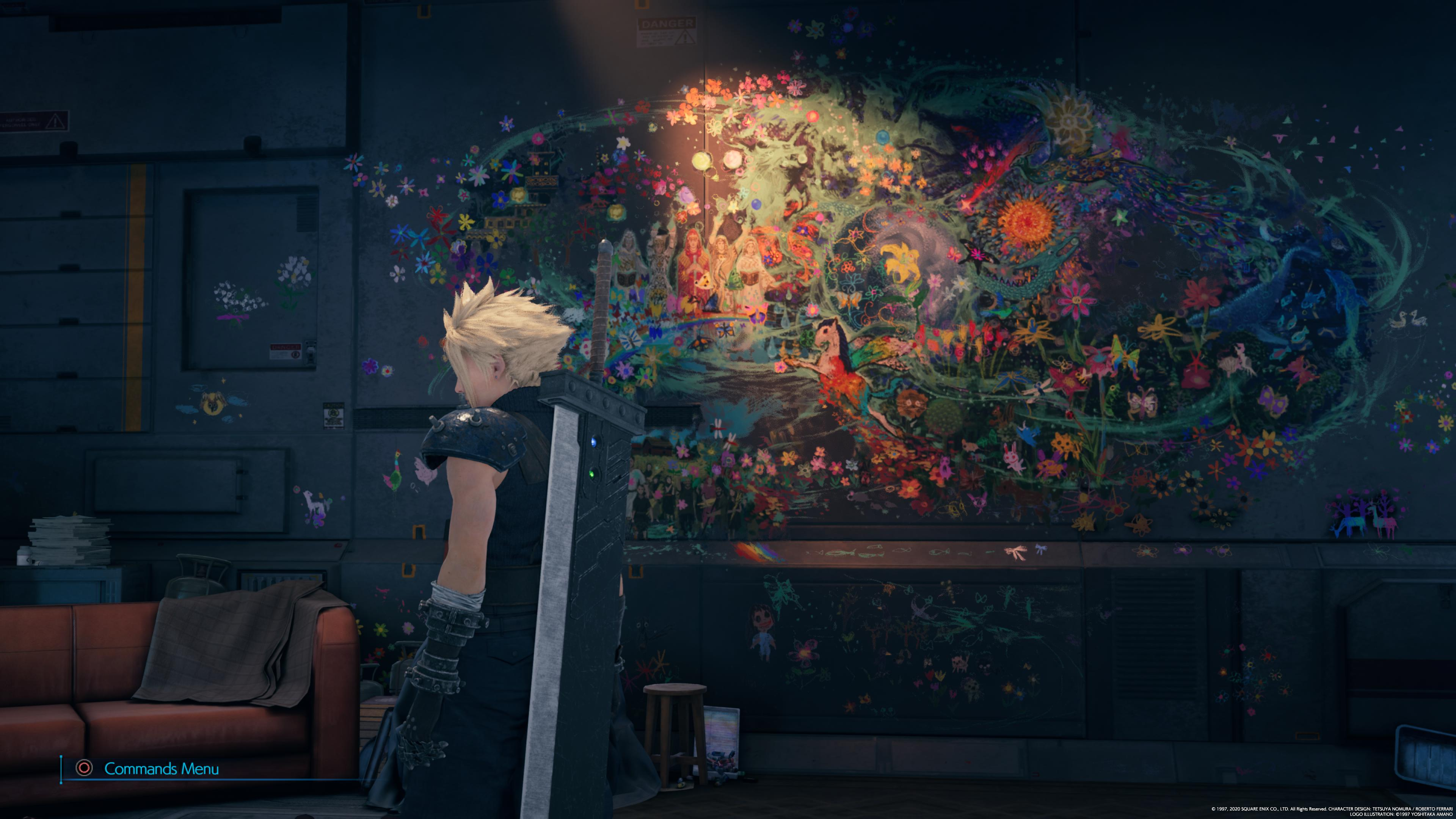Aerith's Mural