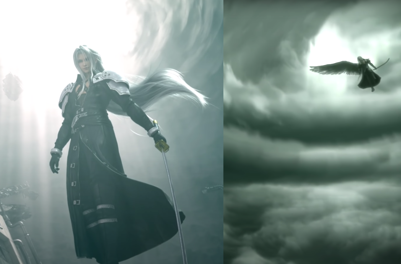 Remake's & ACC's Sephiroth in the Eye of the Storm