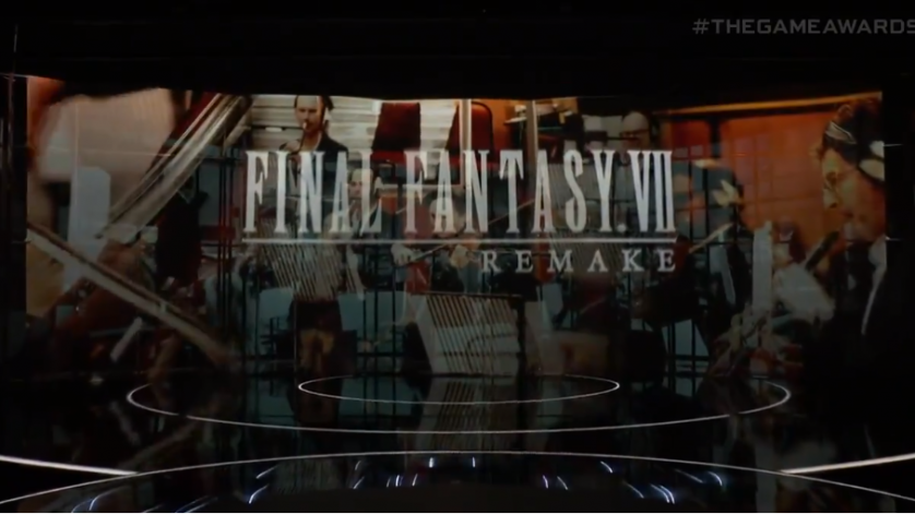 Congratulations to Final Fantasy VII Remake at the VGA!