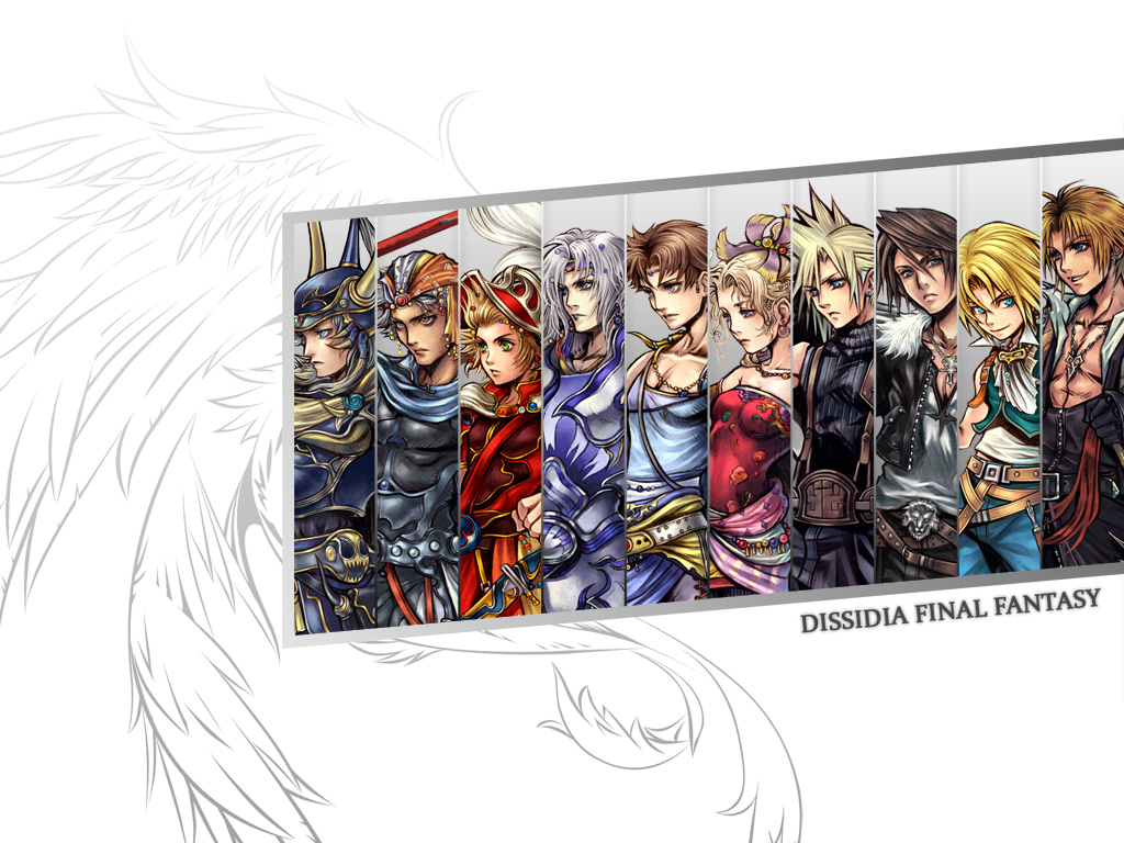 Also, the official Dissidia website has released a character profile for