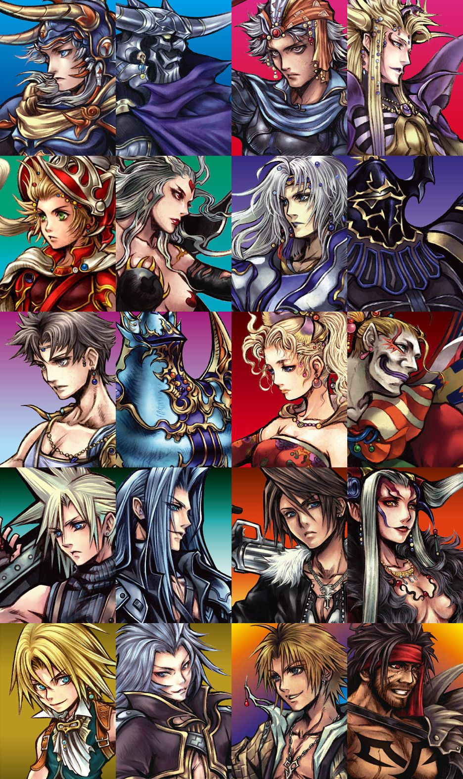 dissidia-character-images