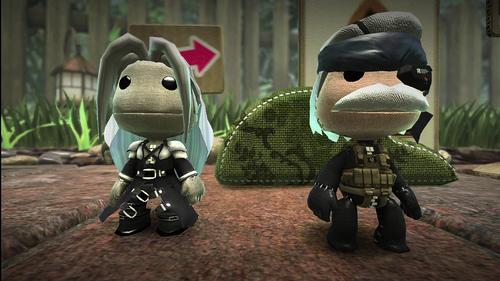 LittleBigPlanet: Sephiroth and Snake